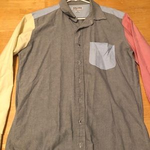 AA Color Block Button Down (Offers Welcome)